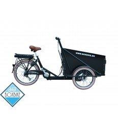 Boxbike Delight el-ladcykel - mat sort ramme / sort box