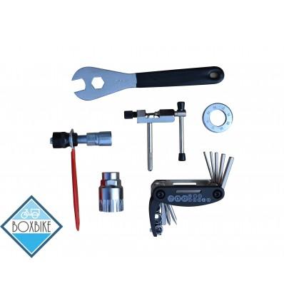 Værktøjssæt m/ 6 dele - montering af elcykel kit 299 DKK