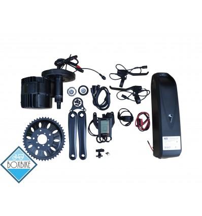 1000 watt BBS-HD krankmotor kit med 48v batteri - Fatbike 100 mm