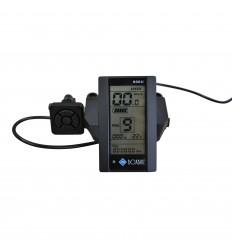 LCD display til elcykel - APT 800U til Bafang / 8FUN / BBS elmotor