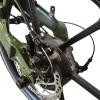 Foldbar elcykel / Foldecykel med 250W elmotor - Integreret LG batteri - Militær Grøn