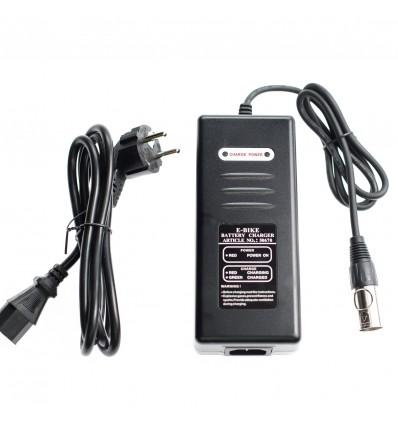 ST Chargers Batteri oplader til Promovec / Ecoride elcykel - 36V / 2A XLR 4-pin 499 DKK