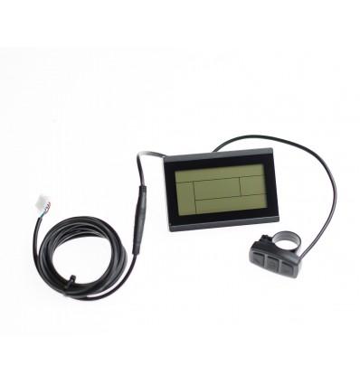 KT - Suzhou Kunteng Electronics KT-LCD3 LCD display til elcykel - JULET / SM5Y 599 DKK