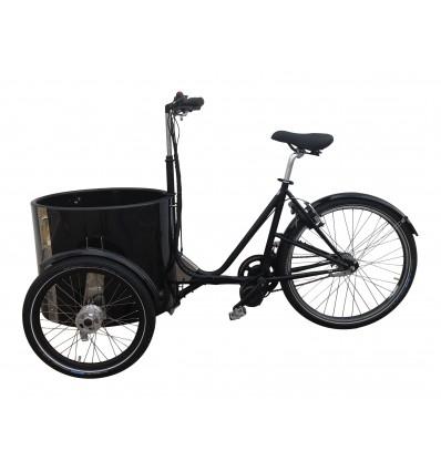 Elmotor kit til Nihola ladcykel - 250-500W / fodbremse