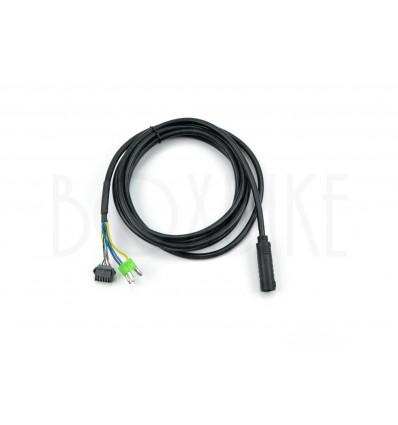 Controller kabel - elcykel med navmotor - 9-pins Lishui 125 cm