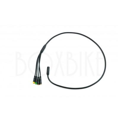 Bafang Forgreningskabel 1T4 til Bafang / 8FUN BBS krankmotor - 105 cm 249 DKK