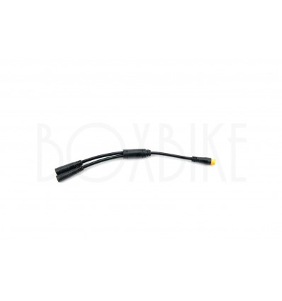 Y-split 1T2 kabel elcykel - Higo / Bafang EB-BUS 32 cm