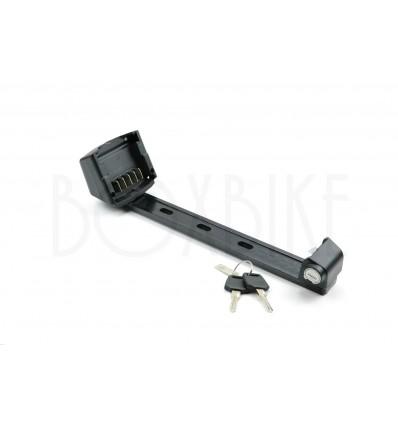 Reention Batteriholder til elcykel - ZT01 model med lås & nøgler 249 DKK