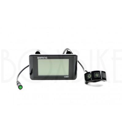 Bafang Bafang C961 LCD display - UART / Higo kontakt 499 DKK