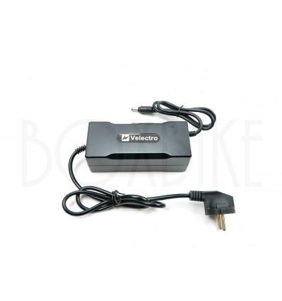 Velectro 36V oplader elcykel batteri - DC2.1 5,5mm output 42V / 2A 299 DKK