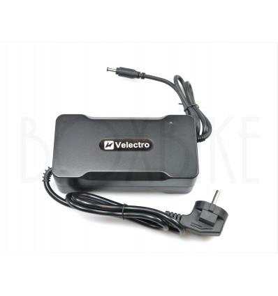 Velectro 48V lynlader elcykel batteri - DC2.1 5,5mm output 3A 399 DKK