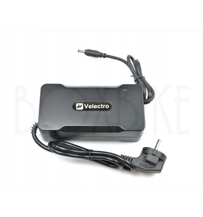 Velectro 48V snabbladdare elcykel batteri - DC2.1 5,5mm output 3A 399 DKK