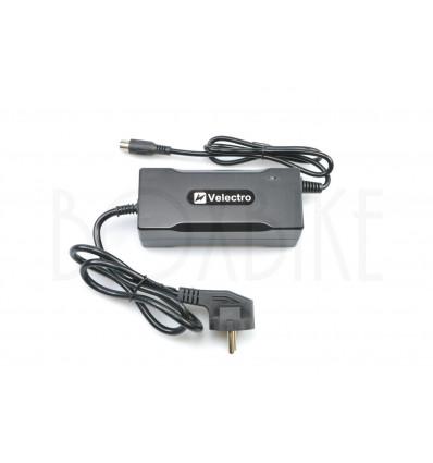 Velectro 36V lynlader elcykel batteri - RCA output 42V / 3A 349 DKK