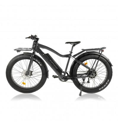 Strøm|stad E-fatbike 250-750W / 25-45 km/h - grå metallic - Strömstad biggie 17 975 DKK