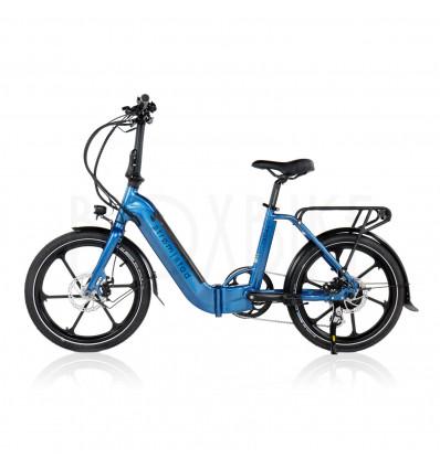 Strøm|stad Folde elcykel 250W - Strømstad reflex - lav indstigning - Marineblå 9 975 DKK
