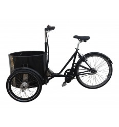 Elmotor kit til Nihola ladcykel / 250W - 500W / med eller uden fodbremse