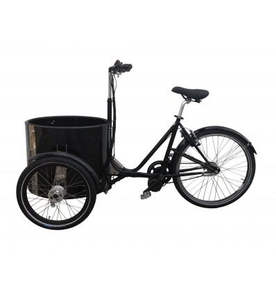 Montering af el-motor kit på Nihola ladcykel