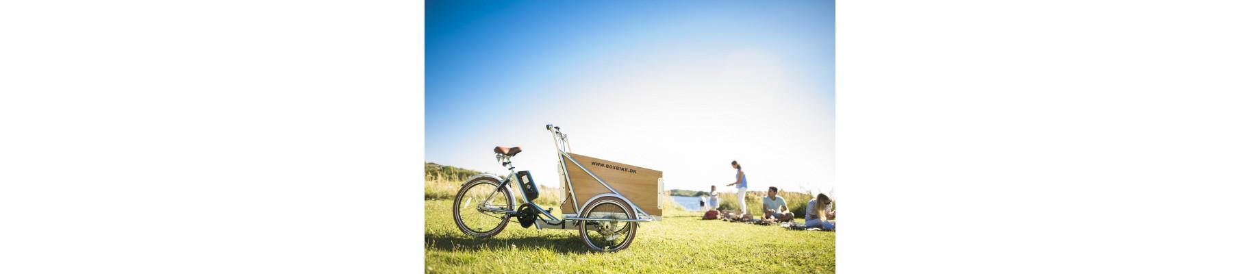 Lådcykel med elmotor