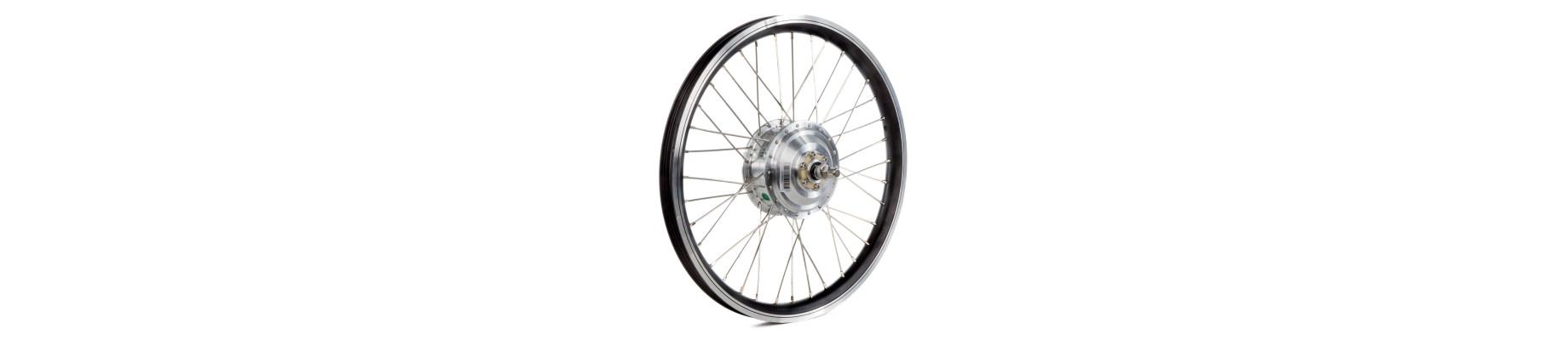 Hjul med navmotor