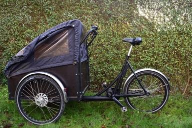 Elmotor til Christiania bike