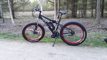 Fatbike with elassist