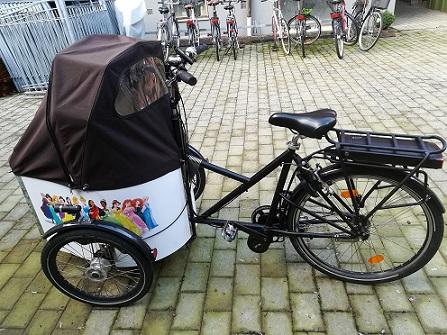 Elcykel kit til Nihola ladcykel