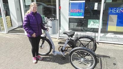 Senior elcykel. Handikap elcykel