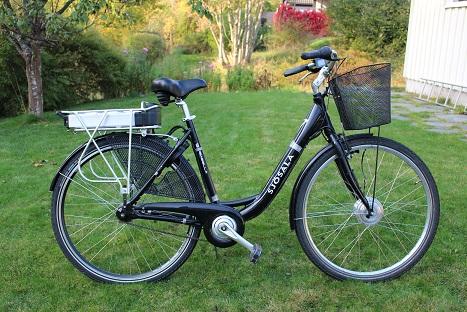 Elcykel kit til Sjösala cykel