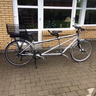 Elcykelkit till tandemcykel. Elektrifiera tandemcykel